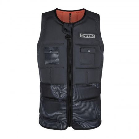 Mystic Jopič PEACOCK Wake Impact Vest Frontzip - 811 Phantom Grey