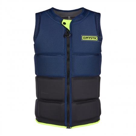 Mystic Jopič MARSHALL Wake Impact Vest Frontzip Winboss - 422 Navy Lime