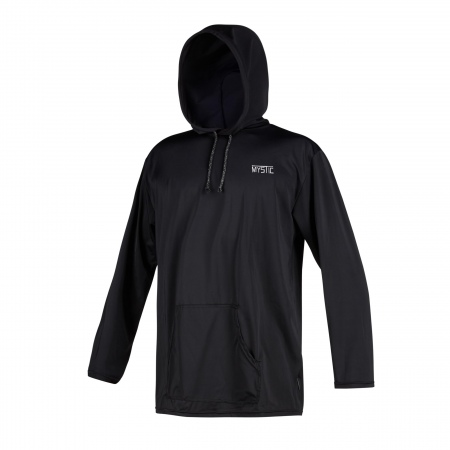 Quickdry Mystic CHILLER HOODED LS - 900 Black