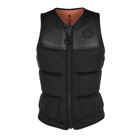 Mystic DAZZLED Wake Impact Vest Frontzip - 905 Black Allover