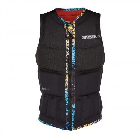 Mystic Jopič GEM Wake Impact Vest Frontzip - 900 Black
