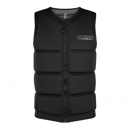 Mystic STAR Wake Impact Vest Frontzip - 900 Black