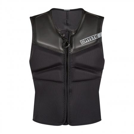 Mystic Jopič BLOCK Impact Vest Kite Front zip - 900 Black