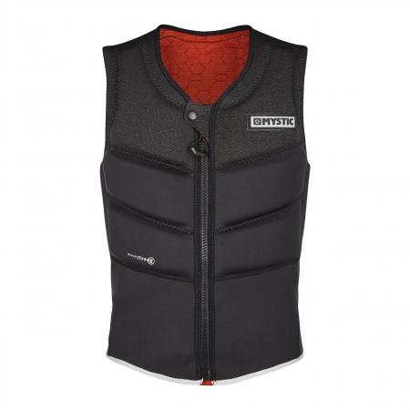 Mystic Jopič FOIL Impact Vest Kite Front zip - 900 Black