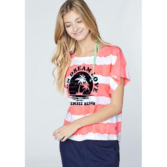 Majica Chiemsee BOGA SS - 1029 White-Pink Btk