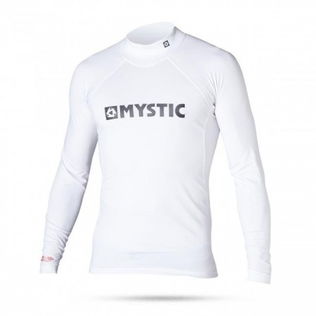 Lycra Mystic Star Junior LS - 100 White