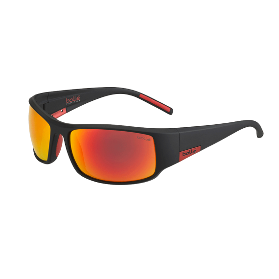 Očala Bolle KING - 0 Matte Black Metal Red-Tns Fire