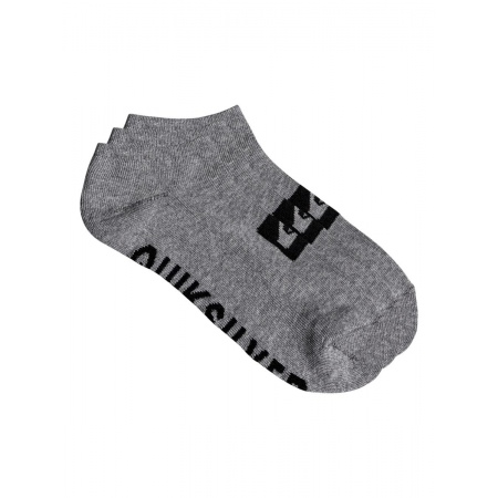 Nogavice Quiksilver 3 ANKLE PACK - Sgrh Light Grey Heather
