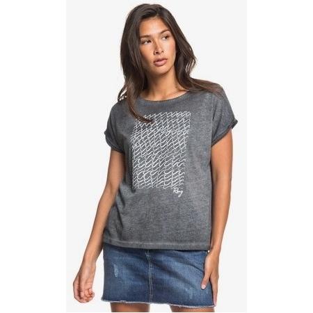 Majica Roxy SUMMERTIME HAPPINESS - Kvj0 Anthracite
