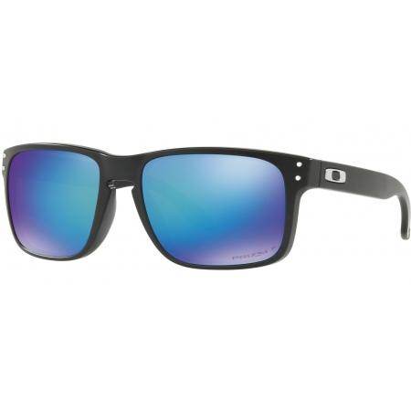 Očala Oakley HOLBROOK - 9102-F055 Matte Black-Prizm Sapphire Polarized