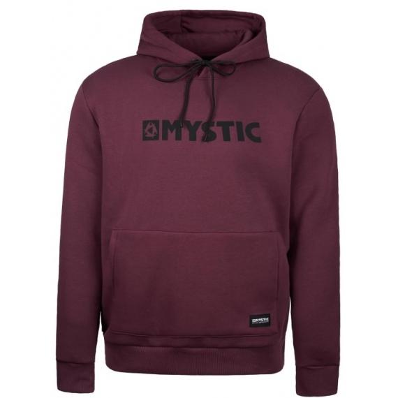 Majica Mystic BRAND HOOD - 322 Oxblood Red