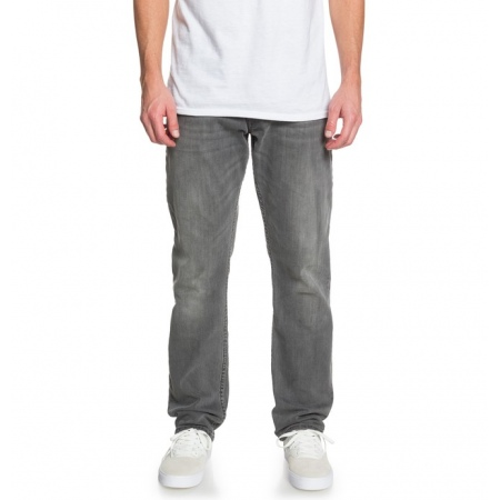 Hlače DC WORKER STRAIGHT SLG - Sjpw Light Grey