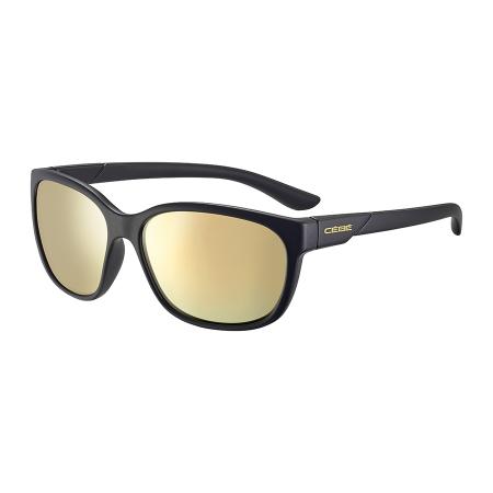 Očala Cebe AYDEN - 0 Matte Black-Blue Light Brown Gold
