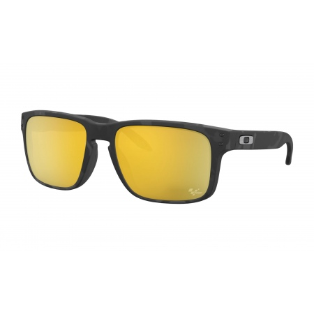 Očala Oakley HOLBROOK - 9102-0355 Matte Black Torttoise-Prizm 24K Polarized