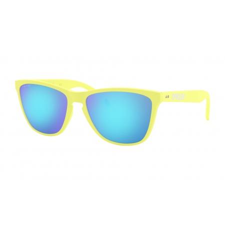 Očala Oakley FROGSKINS 35TH - 9444-0357 Matte Neon Yellow-Prizm Sapphire