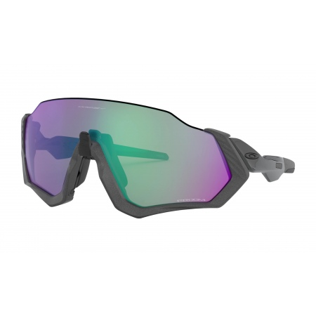 Očala Oakley FLIGHT JACKET - 9401-1537 Matte Stell Jade-Prizm Road