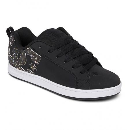 Čevlji DC W COURT GRAFFIK - Bs5 Black-Splatter