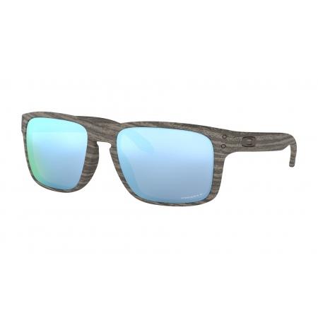 Očala Oakley HOLBROOK - 9102-J955 Woodgrain-Prizm Deep H2O Polarized