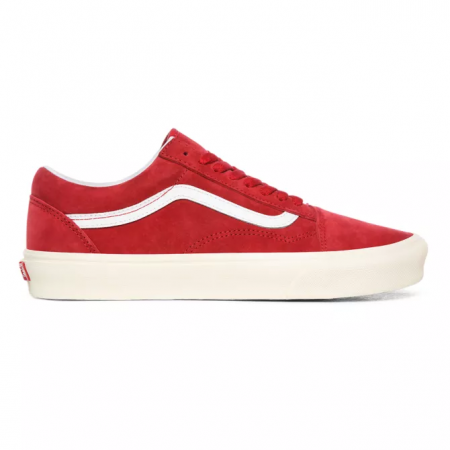 Čevlji Vans OLD SKOOL (Pig Suede) - 0 Chili Pepper-True White