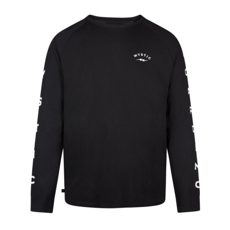 Mystic BOLT Long Sleeve Tee - 900 Black