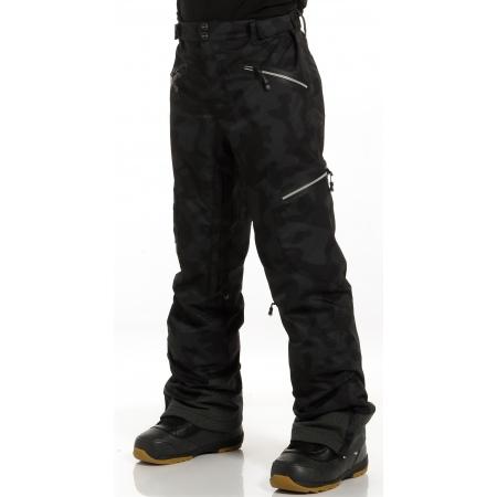 Hlače Rehall ZANE-R - 1001 Camo Black