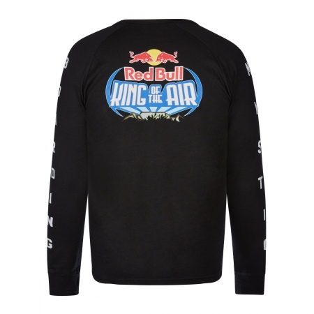 Majica Mystic Red Bull - King of The Air - 900 Black