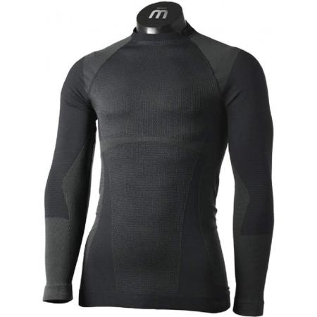 Spodnja Majica Mico CM 01850 Warm NECK Warm - 007 Nero