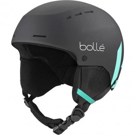 Čelada Bolle QUIZ - Black Green Matte