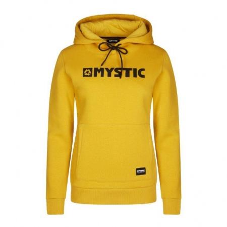 Majica Mystic BRAND HOODIE Women - 775 Mustard