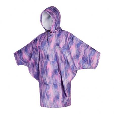 Mystic PONCHO Women - 985 Black-Purple