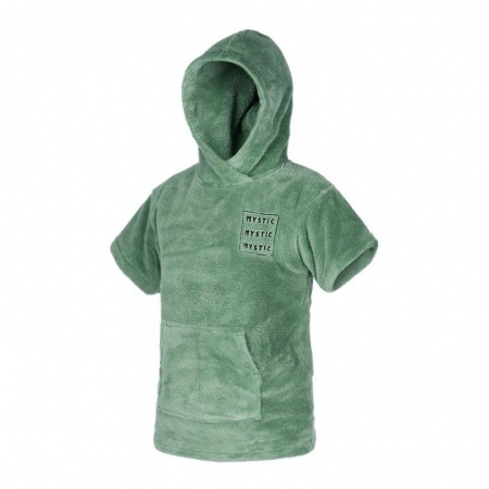 Mystic PONCHO Kids Teddy - 626 Sea Salt Green