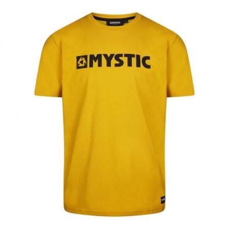 Majica Mystic BRAND SS - 775 Mustard