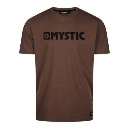 Mystic BRAND Tee - 736 Dark Brown