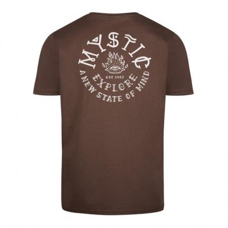 Mystic ONE EYE Tee - 736 Dark Brown
