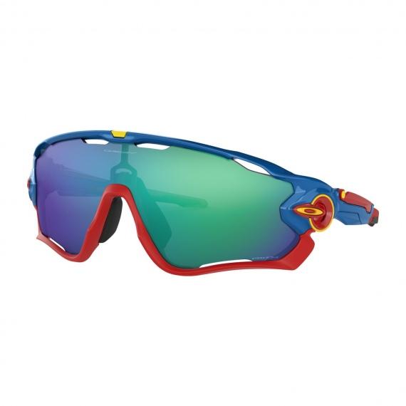 Očala Oakley JAWBREAKER - 9290-4231 Sapphire Blue-Prizm Jade
