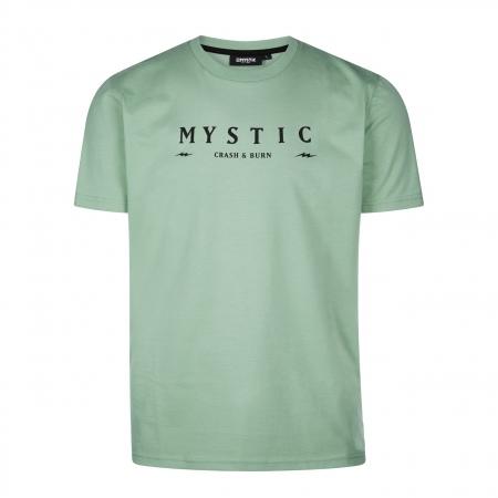 Majica Mystic HUSH SS - 626 Seasalt Green