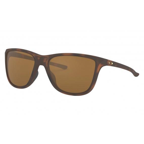 Očala Oakley REVERIE - 9362-0555 Matte Brown Tortoise-Tungstein Iridium Polarized