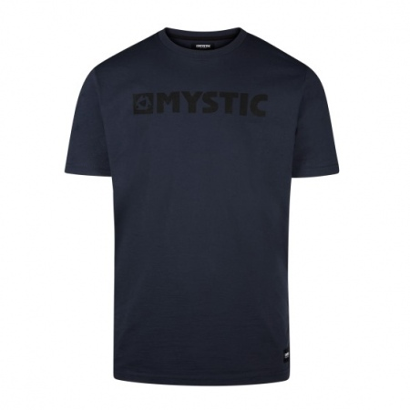 Majica Mystic BRAND SS - 449 Night Blue
