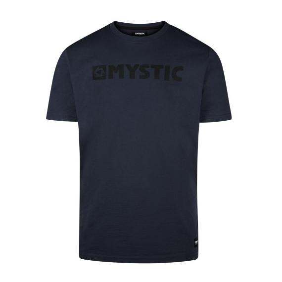 Majica Mystic BRAND SS - 449 Night Blue