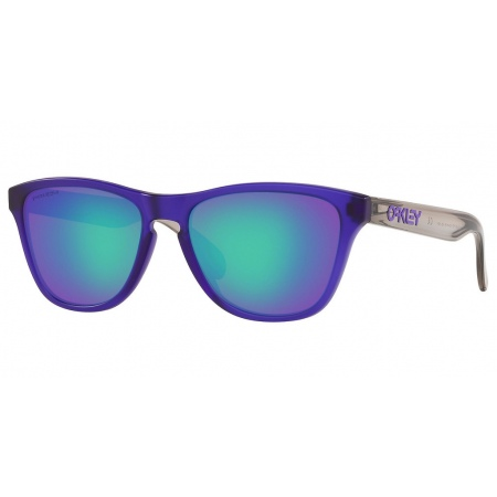 Očala Oakley FROGSKINS XS - 9006-1153 Matte Trans Crystal Purple-Prizm Sapphire