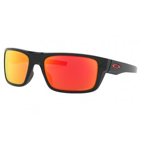 Očala Oakley DROP POINT - 9367-1660 Polished Black-Prizm Ruby