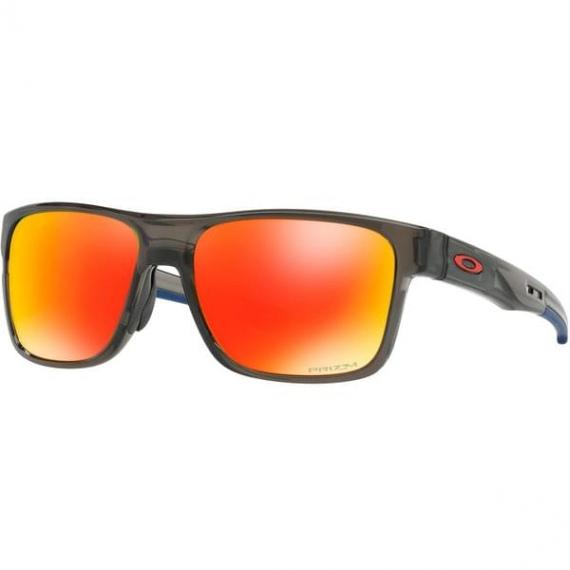 Očala Oakley CROSSRANGE - 9361-1257 Grey Smoke-Prizm Ruby