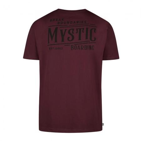 Majica Mystic HOWL - 322 Oxblood Red