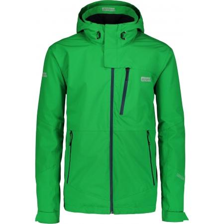 Jakna Nord Blanc DRAPE - Amz Green