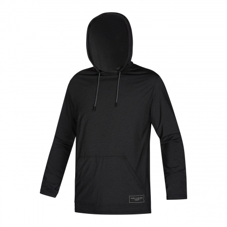 Lycra Mystic CHILLER Hooded LS - 900 Black