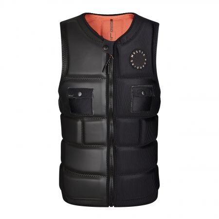 Mystic Jopič VOLTT Wake Impact Vest Frontzip - 900 Black