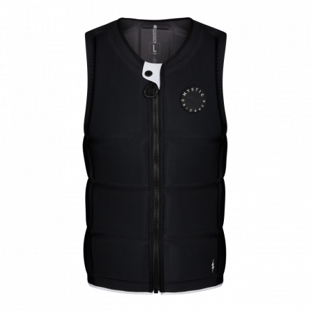 Mystic Jopič STAR PEACOCK Wake Impact Vest Frontzip - 900 Black