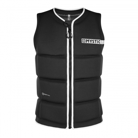 Mystic Jopič BRAND Wake Impact Vest Frontzip - 900 Black