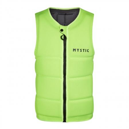 Mystic BRAND Wake Impact Vest Frontzip - 260 Flash Yellow