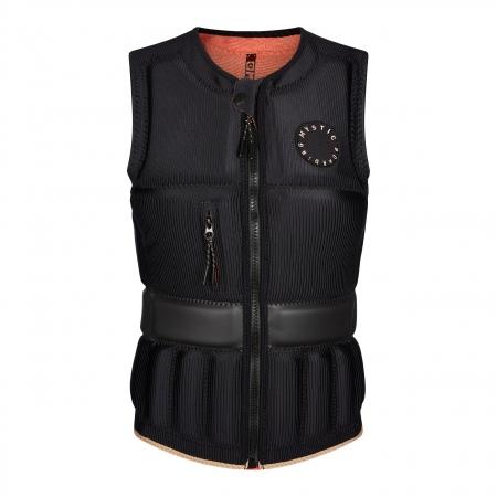 Mystic Jopič GEM Impact Vest Wake Front zip - 900 Black